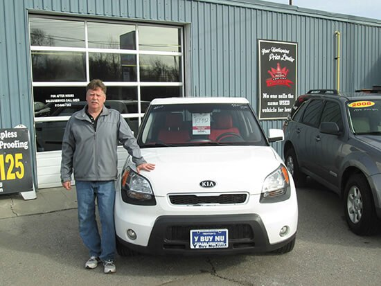 Greg at YbuyNu UseD Cars