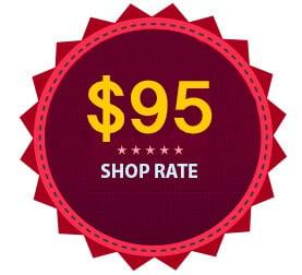 Shop-Rate-95 per hour